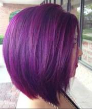 bob hairstyles with color