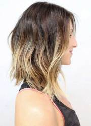 long bob ombre hair hairstyles