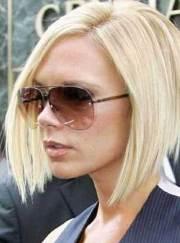 victoria beckham blonde bob