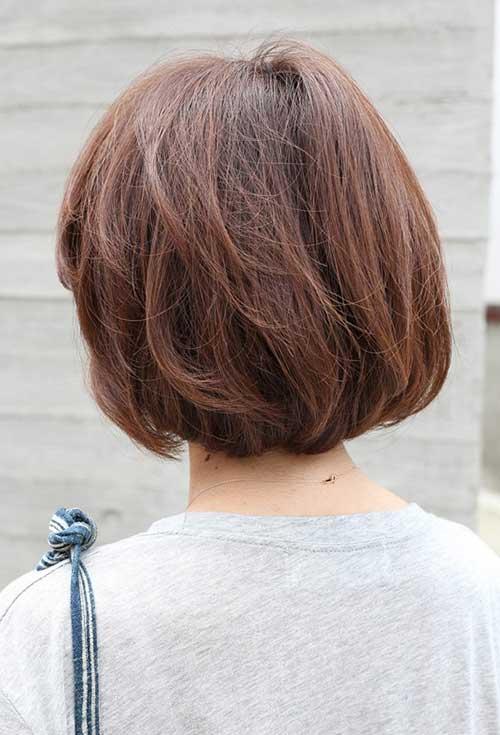 Back View of Short Bob Haircuts  Bob Hairstyles 2018
