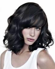 medium wavy bob hairstyles