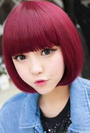 short chinese bob hairstyles