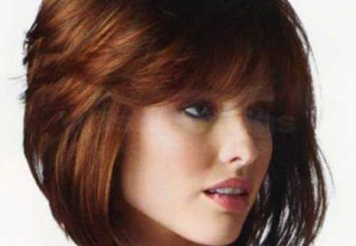 Hairstyles For Short Hair Round Face Women