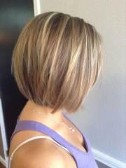 highlighted bob haircuts
