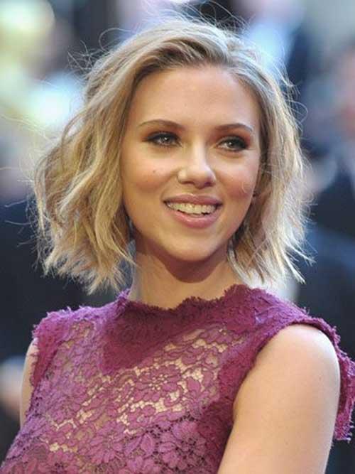 30 Scarlett Johanson Hairstyles Above Shoulder Hairstyles Ideas