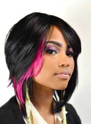 black women with bob hairstyles