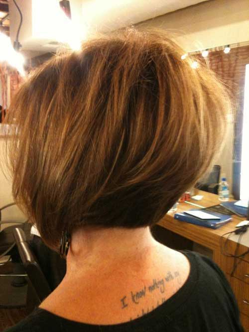20 Best Graduated Bob Pictures Bob Hairstyles 2017 Short