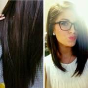 long bob dark hair hairstyles