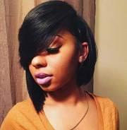 pretty black girl bob haircuts