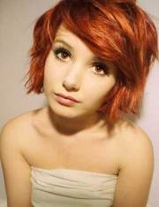 red bob hairstyles