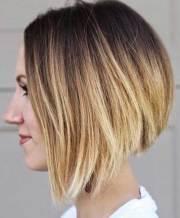 line bob haircut pics