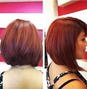 stylish bob haircuts thick