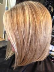 layered razored bob haircut