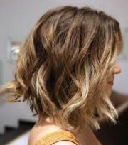 long wavy bob hairstyles