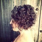 curly short bob hairstyles