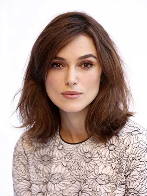 Keira Knightley Chanel Haircut