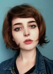 bob hairstyles with side