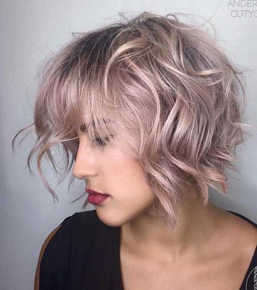 Must See Wavy Bob Hair Pics Bob Hairstyles 2018 Short