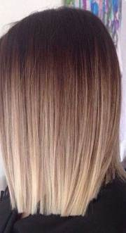 ombre hair long bob hairstyles