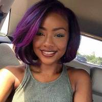 1000+ images about Very Dark Skin and Colored Hair on ...