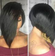 pretty black ladies with bob hairstyles
