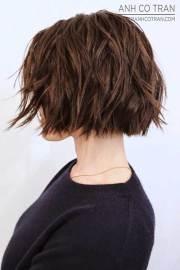 choppy bob hairstyles stylish