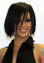 rihanna bob haircut hairstyles