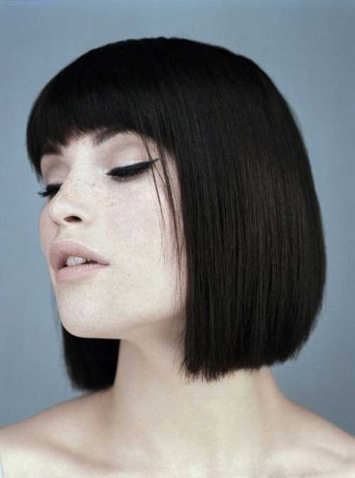 20 Dark Brown Bob Hairstyles  Bob Hairstyles 2018  Short Hairstyles for Women