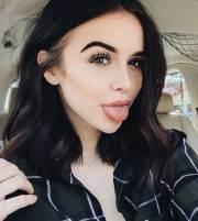 dark brown bob hairstyles