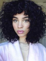 latest bob haircuts curly