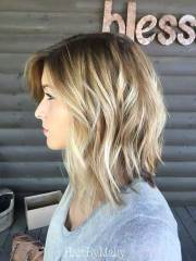 ultra chic layered bob haircuts