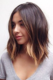 shoulder length bob haircuts