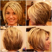 beautiful stacked bob haircuts