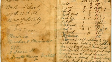 Paw Paw's WWII Recipe Book