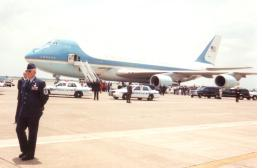 Bob. Security of Air Force One