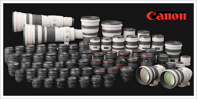 The Canon EOS Lens Database