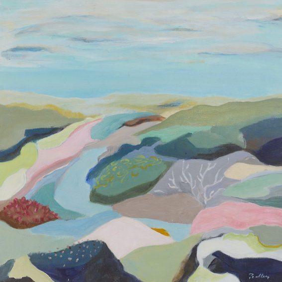 underwater landscape, gliding, artist robyn pedley, bobbie p gallery