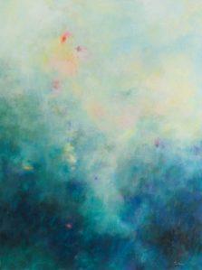 Hearts Desire, landscape, original artwork by Robyn Pedley