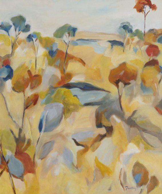 ridge colours, artist robyn pedley, landscape, bobbie p gallery