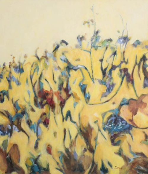 Coastal Wildflowers by artist Robyn Pedley @bobbiepgallery