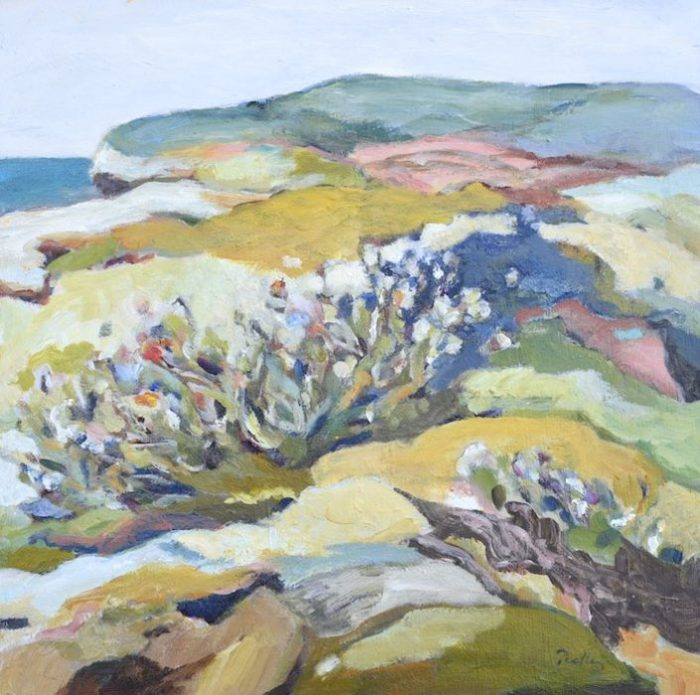 Haven Sanctuary Study by artist Robyn Pedley @bobbiepgallery