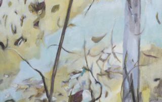 Leaning In by artist Robyn Pedley @bobbiepgallery