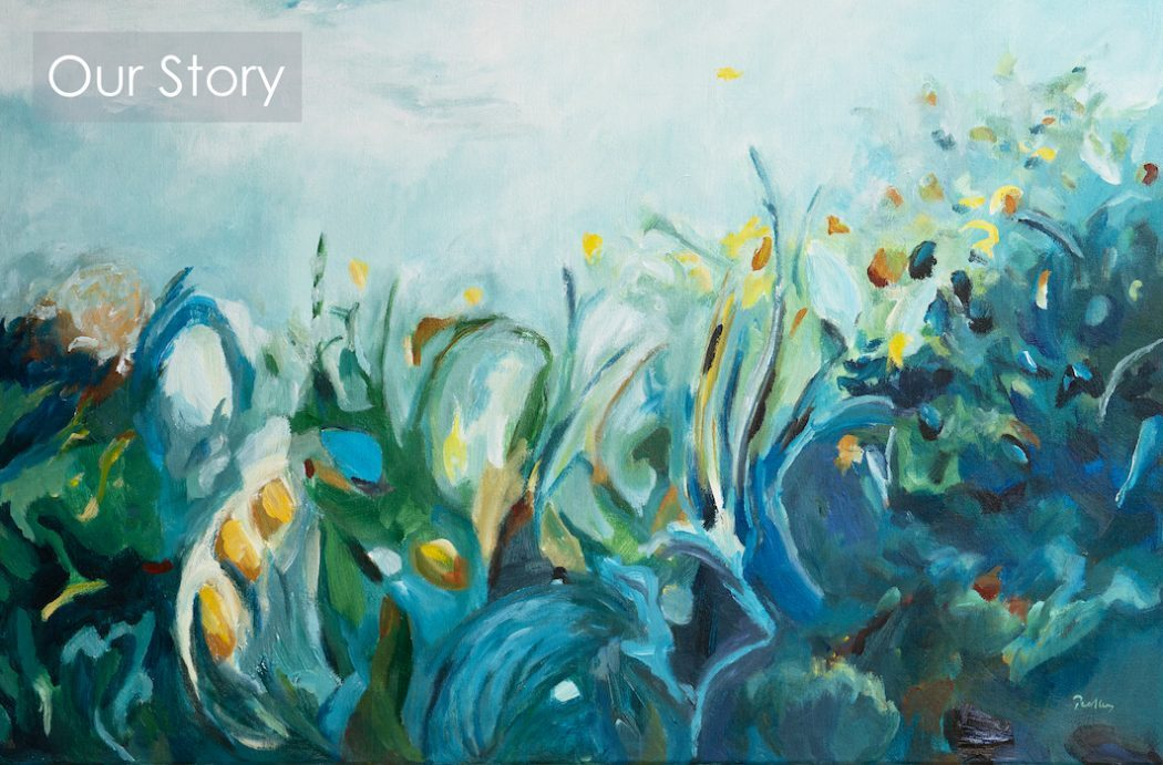 The story behind Bobbie P Gallery and artists Robyn & Darren Pedley