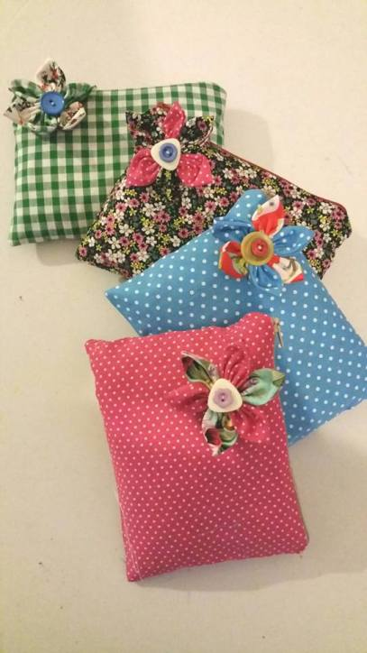 bag pouches bobbins and buttons