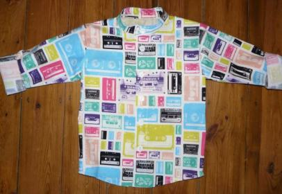 cassette shirt bobbins and buttons