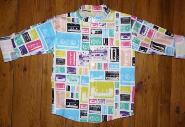 cassette shirt bobbins and buttons