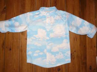 cloud shirt Bobbins and buttons
