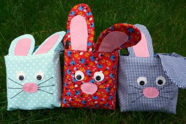 easter bunnies Bobbins and buttons