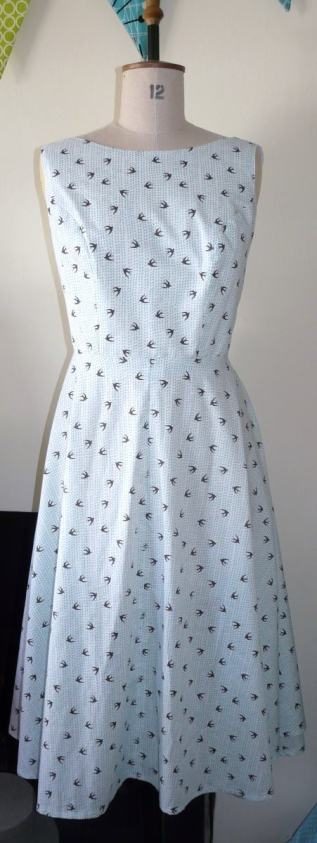 swallow dress bobbins and buttons