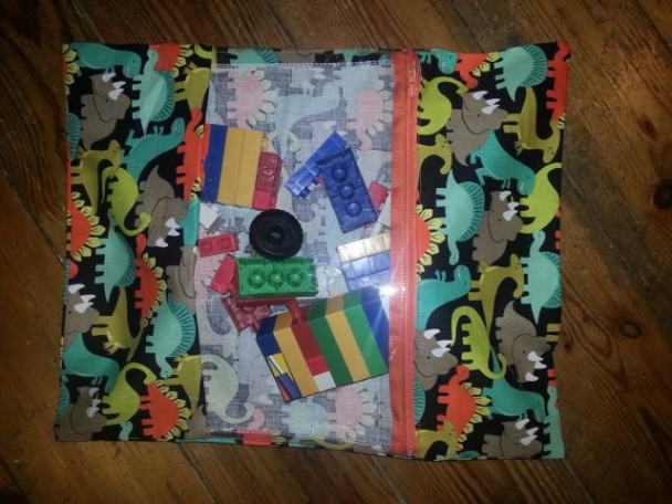 toy bag bobbins and buttons